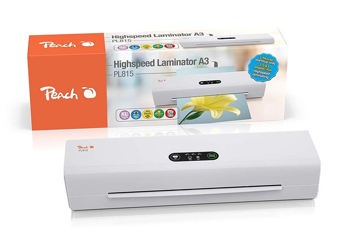 Laminátor Peach Professional Highspeed PL815, A3