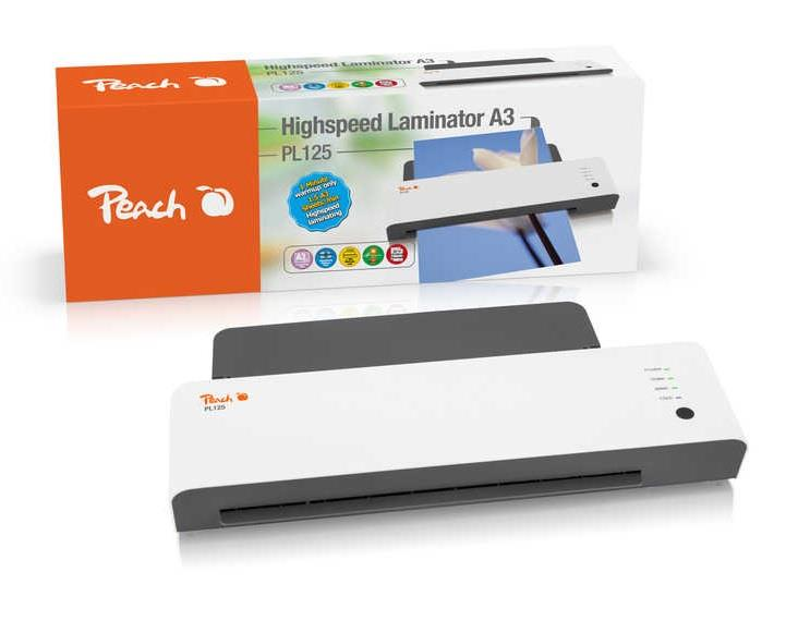 Laminátor PEACH HighSpeed PL125, A3